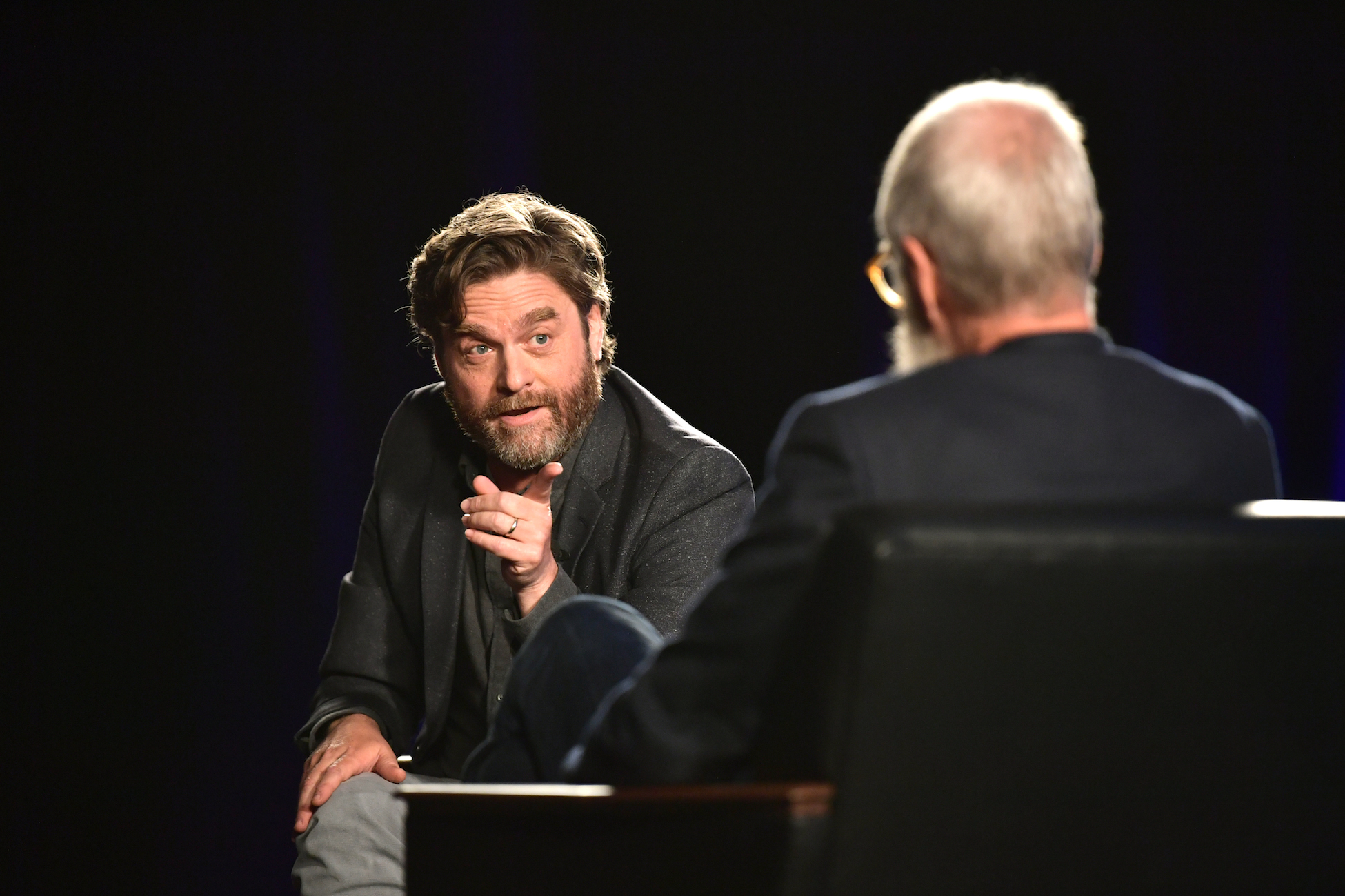 'Between Two Ferns' Movie: Zach Galifianakis and Co-Star David Letterman Reveal Details