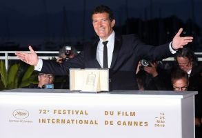 Antonio Banderas - Best Performance by an Actor - 'Pain and Glory'Winners' photocall, 72nd Cannes Film Festival, France - 25 May 2019