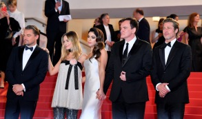 Leonardo DiCaprio, Margot Robbie, Daniela Pick, Quentin Tarantino and Brad Pitt'Once Upon a Time In... Hollywood' premiere, 72nd Cannes Film Festival, France - 21 May 2019