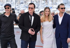 Brad Pitt, Quentin Tarantino, Margot Robbie and Leonardo DiCaprio'Once Upon A Time in Hollywood' photocall, 72nd Cannes Film Festival, France - 22 May 2019