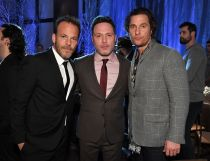 Stephen Dorff, Nic Pizzolatto and Matthew McConaughey'True Detective' TV Show Premiere, After Party, Director's Guild of America, Los Angeles, USA - 10 Jan 2019