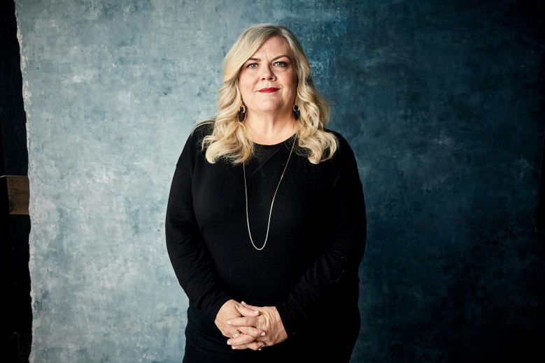 "Paula Pell poses for a portrait to promote the series ""Documentary Now!"" at the Salesforce Music Lodge during the Sundance Film Festival, in Park City, Utah2019 Sundance Film Festival - ""Documentary Now!"" Portrait Session, Park City, USA - 26 Jan 2019"