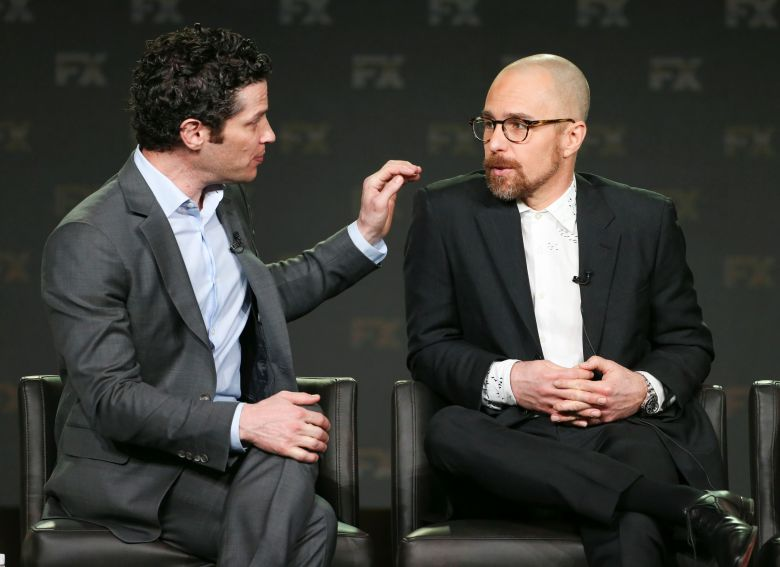 Thomas Kail and Sam RockwellFX 'Fosse/Verdon' TV Show Panel, TCA Winter Press Tour, Los Angeles, USA - 04 Feb 2019
