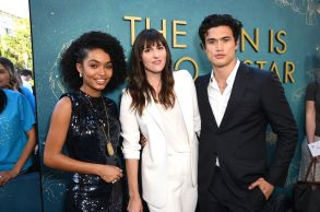 Yara Shahidi, Ry Russo-Young, Director, Charles Melton'The Sun Is Also A Star' film premiere, Los Angeles, USA - 13 May 2019