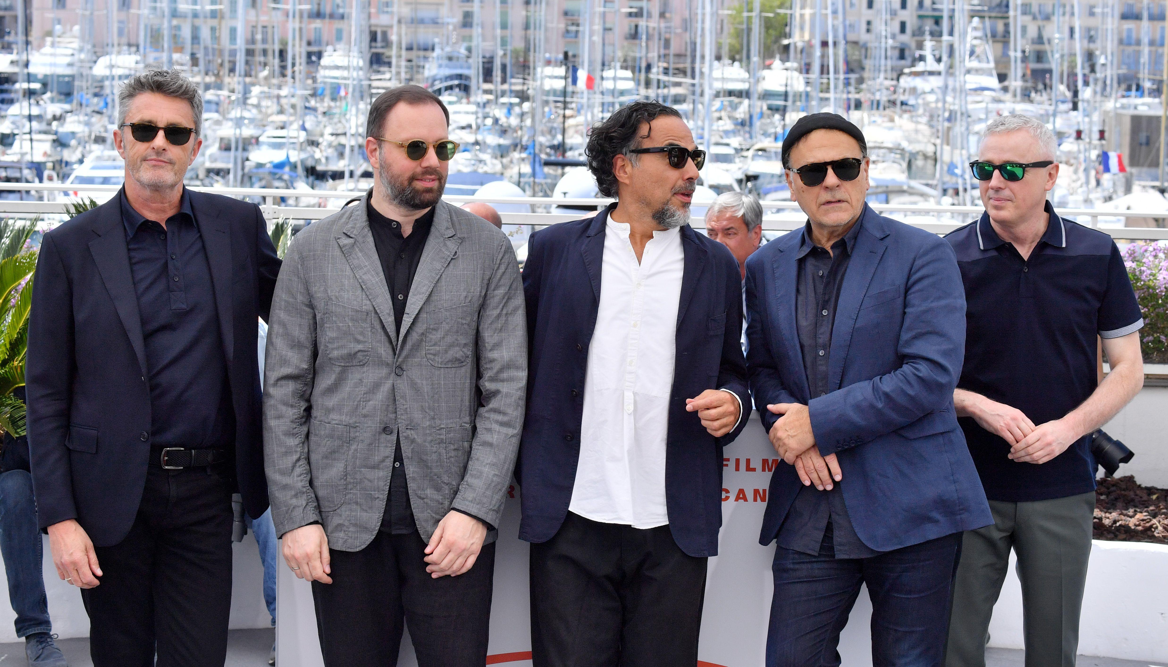 Pawel Pawlikowski, Yorgos Lanthimos, Alejandro Gonzalez Inarritu, Enki Bilal and Robin CampilloJury photocall, 72nd Cannes Film Festival, France - 14 May 2019