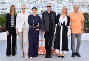 Sara Driver, Tilda Swinton, Selena Gomez, Jim Jarmusch, Chloe Sevigny and Bill Murray'The Dead Don't Die' photocall, 72nd Cannes Film Festival, France - 15 May 2019