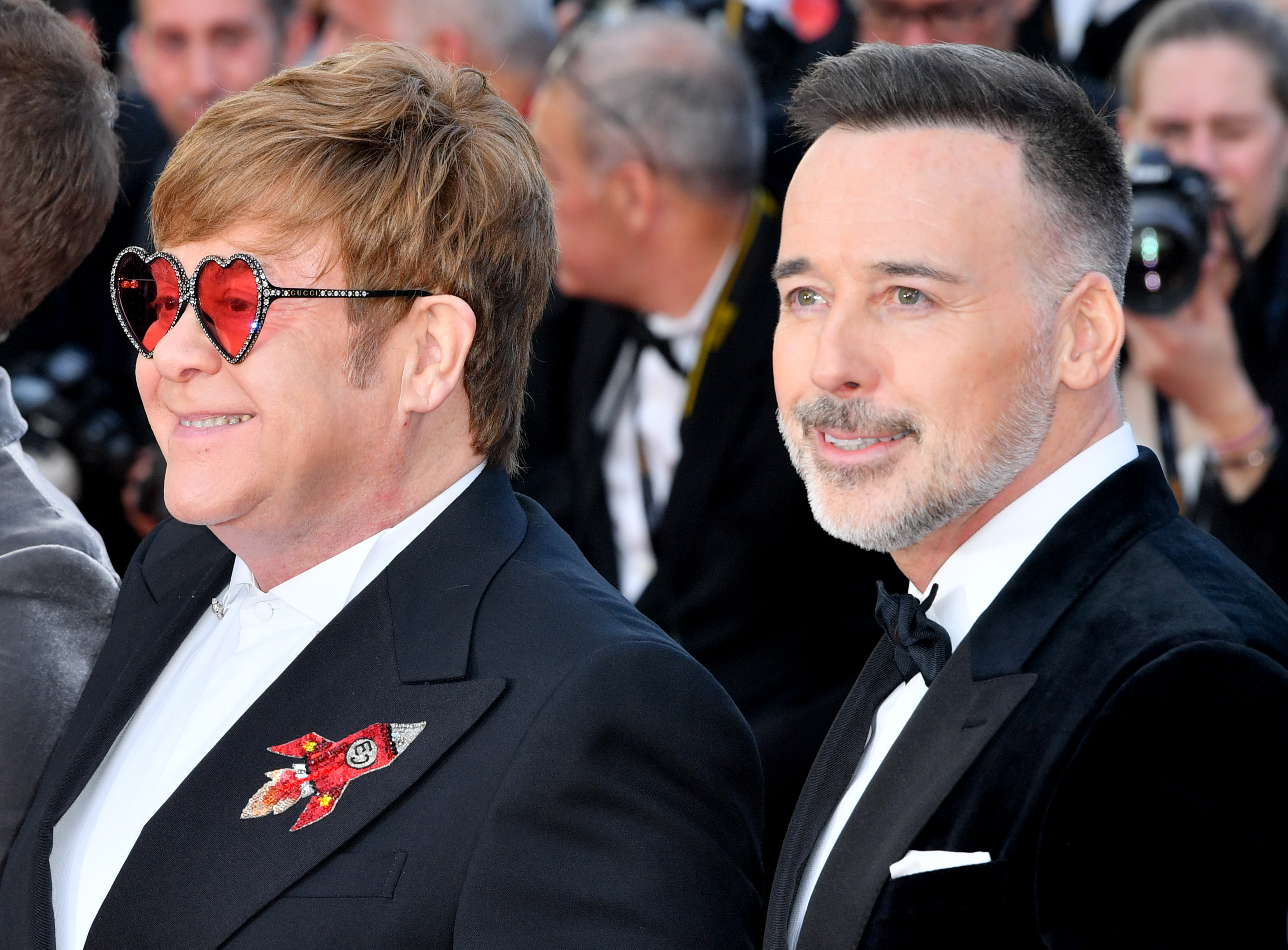 Elton John and David Furnish'Rocketman' premiere, 72nd Cannes Film Festival, France - 16 May 2019