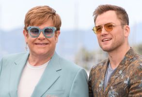 Elton John and Taron Egerton'Rocketman' photocall, 72nd Cannes Film Festival, France - 16 May 2019