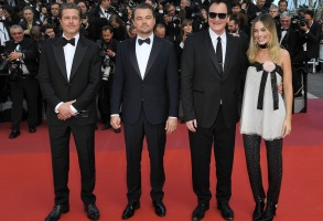 Brad Pitt, Leonardo DiCaprio, Quentin Tarantino and Margot Robbie'Once Upon a Time In... Hollywood' premiere, 72nd Cannes Film Festival, France - 21 May 2019