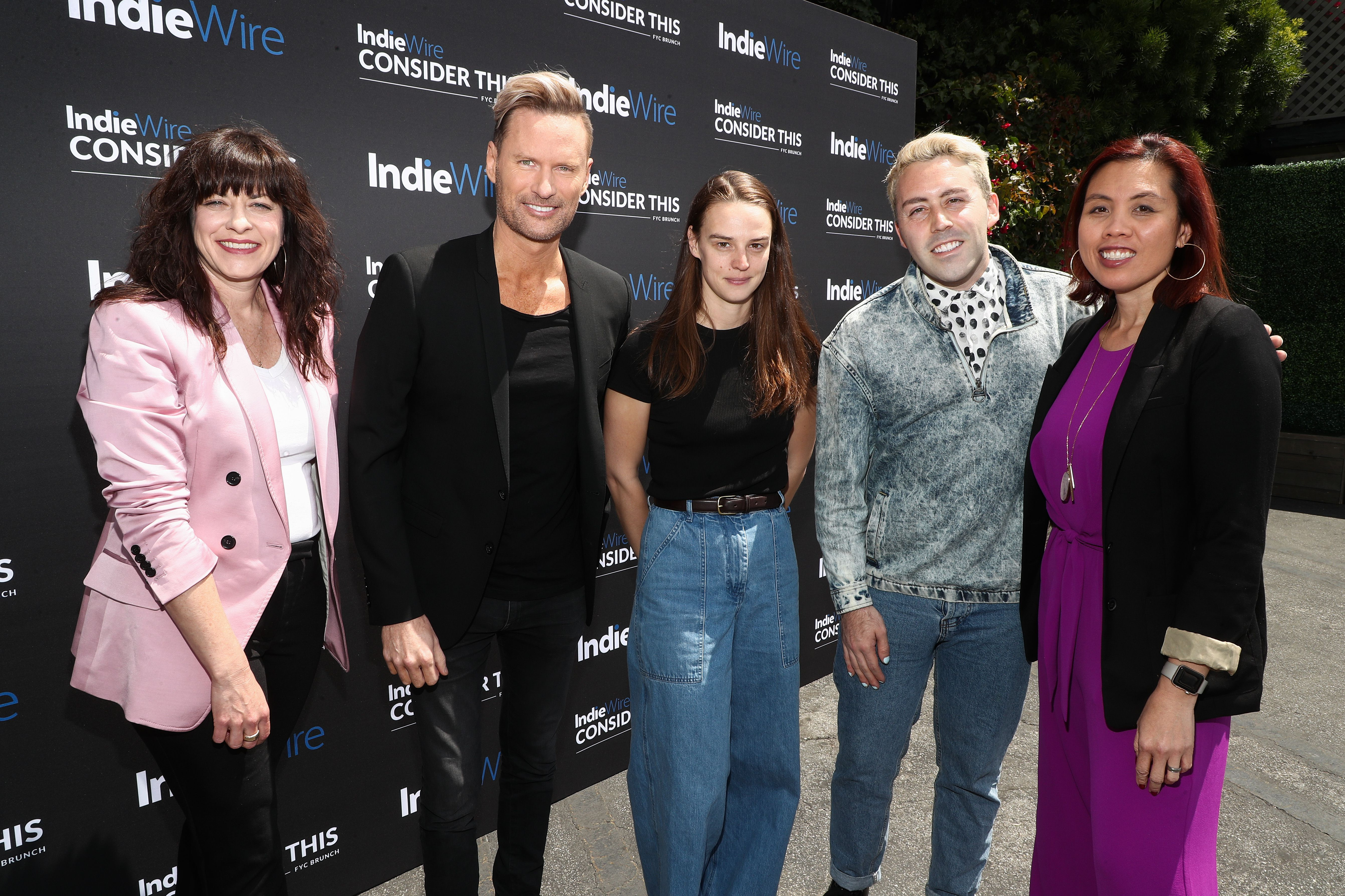 Jenny Eagan, Brian Tyler, Jessica Lee Gagne, Brett ?Leland? McLaughlin and Sandra Valde-HansenIndieWire 'Consider This' FYC Nominees Brunch, Los Angeles, USA - 21 May 2019