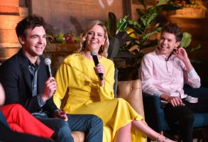 Drew Tarver, Sarah Schneider and Case WalkerIndieWire 'Consider This' FYC Nominees Brunch, Los Angeles, USA - 21 May 2019