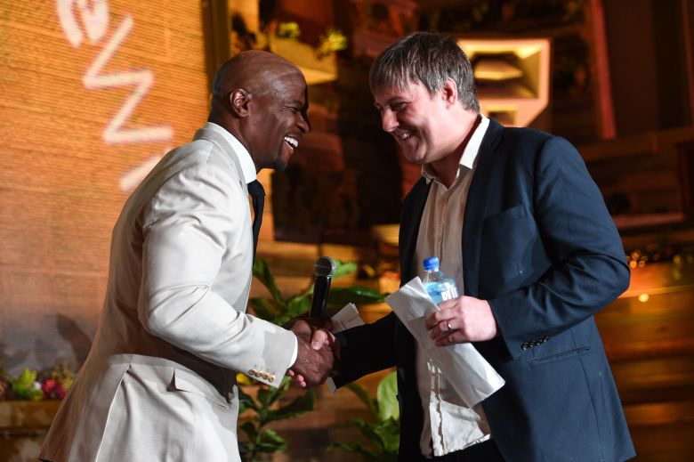 Terry Crews and Chris O'FaltIndieWire 'Consider This' FYC Nominees Brunch, Los Angeles, USA - 21 May 2019