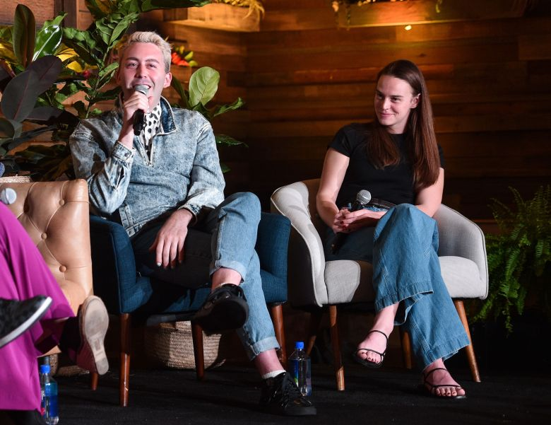 Brett ?Leland? McLaughlin and Jessica Lee GagneIndieWire 'Consider This' FYC Nominees Brunch, Los Angeles, USA - 21 May 2019