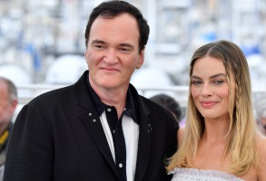Quentin Tarantino and Margot Robbie'Once Upon A Time in Hollywood' photocall, 72nd Cannes Film Festival, France - 22 May 2019