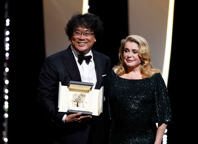 Bong Joon-ho First Korean Director to Win Cannes Palme d'Or