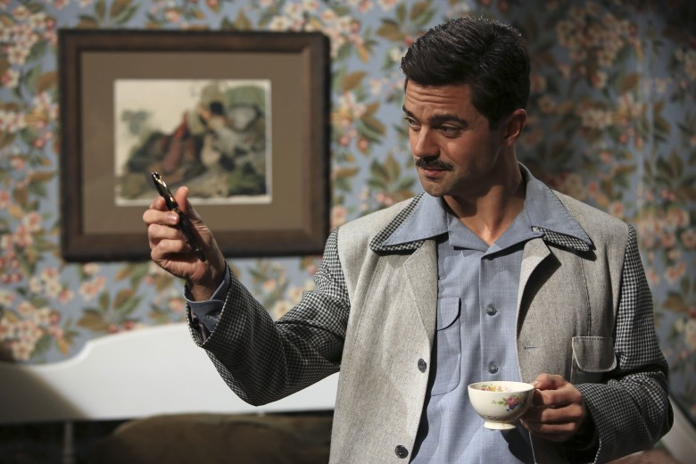 Editorial use only. No book cover usage.Mandatory Credit: Photo by Matt Kennedy/Abc/Marvel Tv/Kobal/REX/Shutterstock (5883466l) Dominic Cooper Agent Carter - 2015 ABC Studios/Marvel Television USA Television Action/Adventure