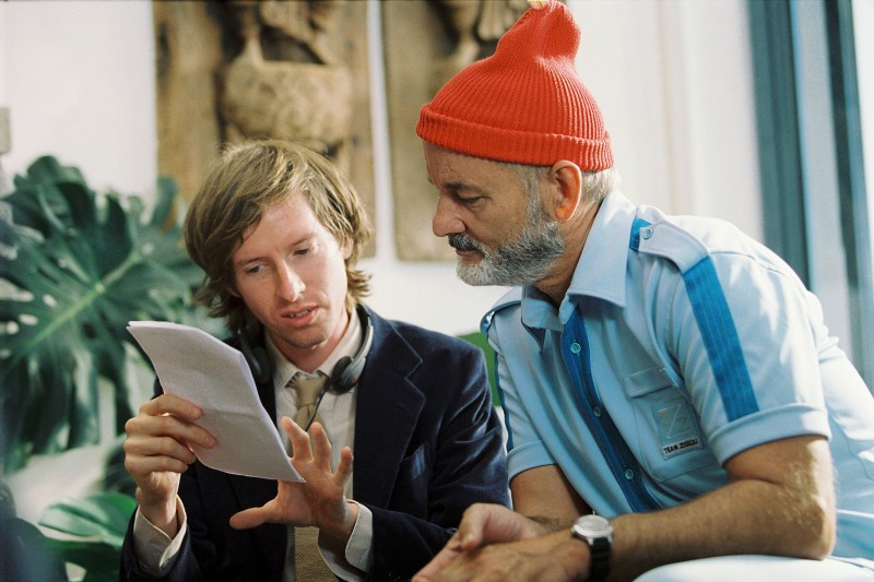 Wes Anderson Behind The Scenes Best Set Photos Indiewire