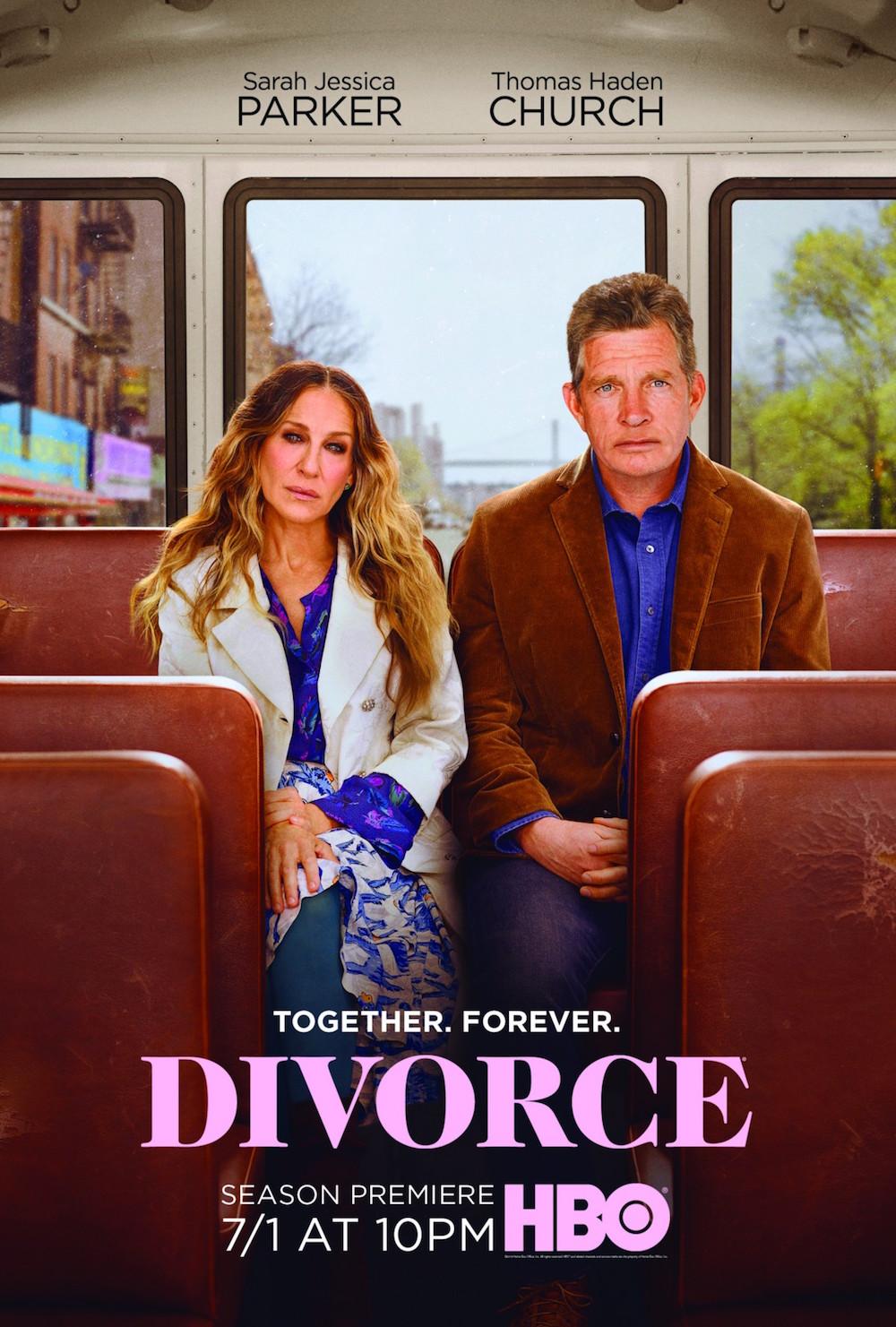 """Divorce"" Season 3 Poster"