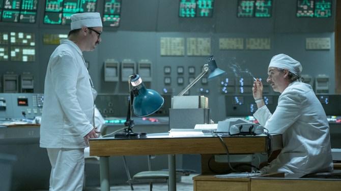 Chernobyl Episode 5 Control Room