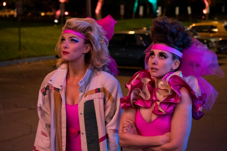 """GLOW"" Betty Gilpin and Alison Brie"