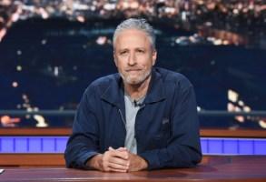 Jon Stewart Mitch McConnell Late Show Stephen Colbert