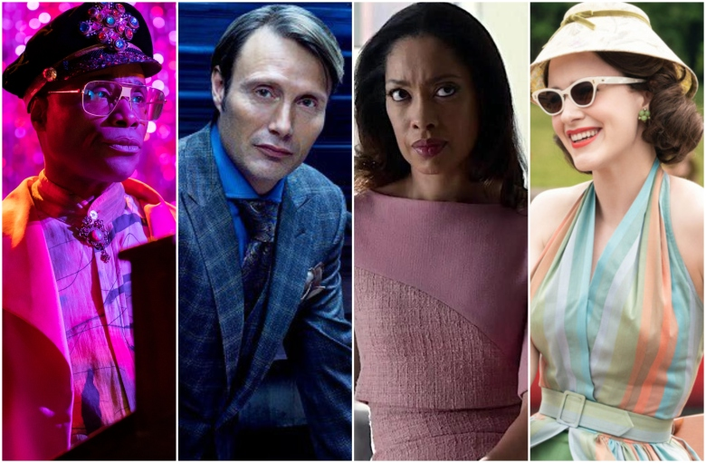 Mosty Stylish TV Characters