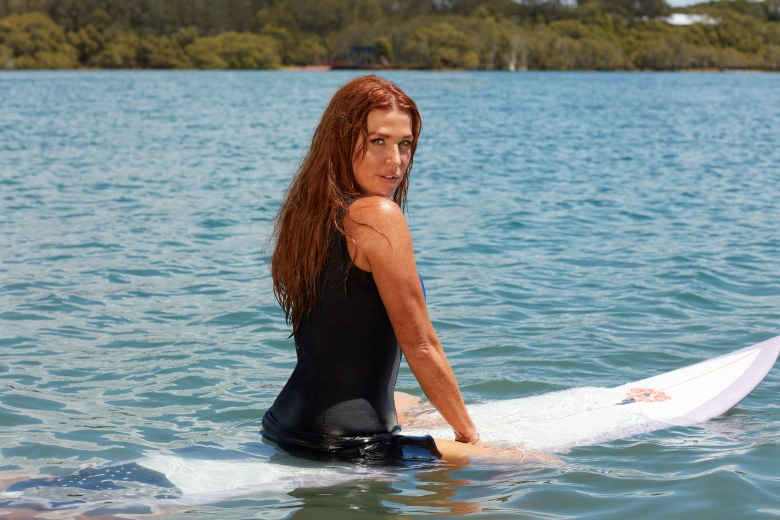 "Poppy Montgomery, ""Reef Break"""