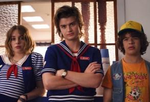 Stranger Things 3 Season 3 Maya Hawke, Joe Keery, Gaten Matarazzo Netflix