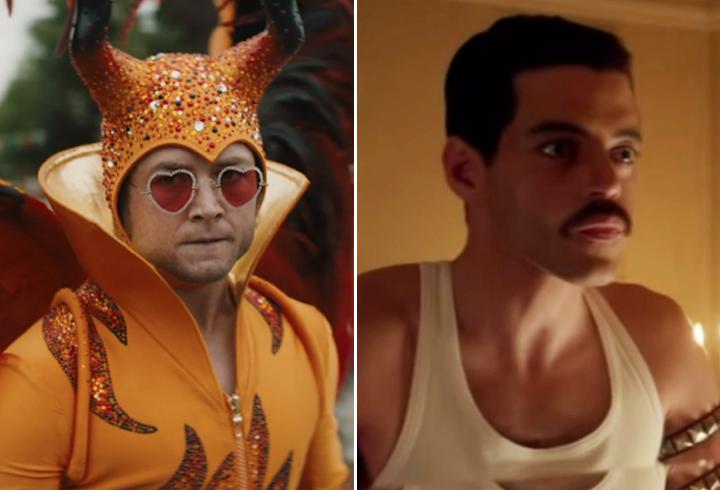 'Rocketman' Director Considered Having Rami Malek Reprise Freddie Mercury in Elton John Biopic