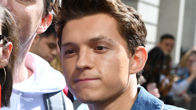 Tom Holland Goes Viral for Saving Fan From Crazy Autograph