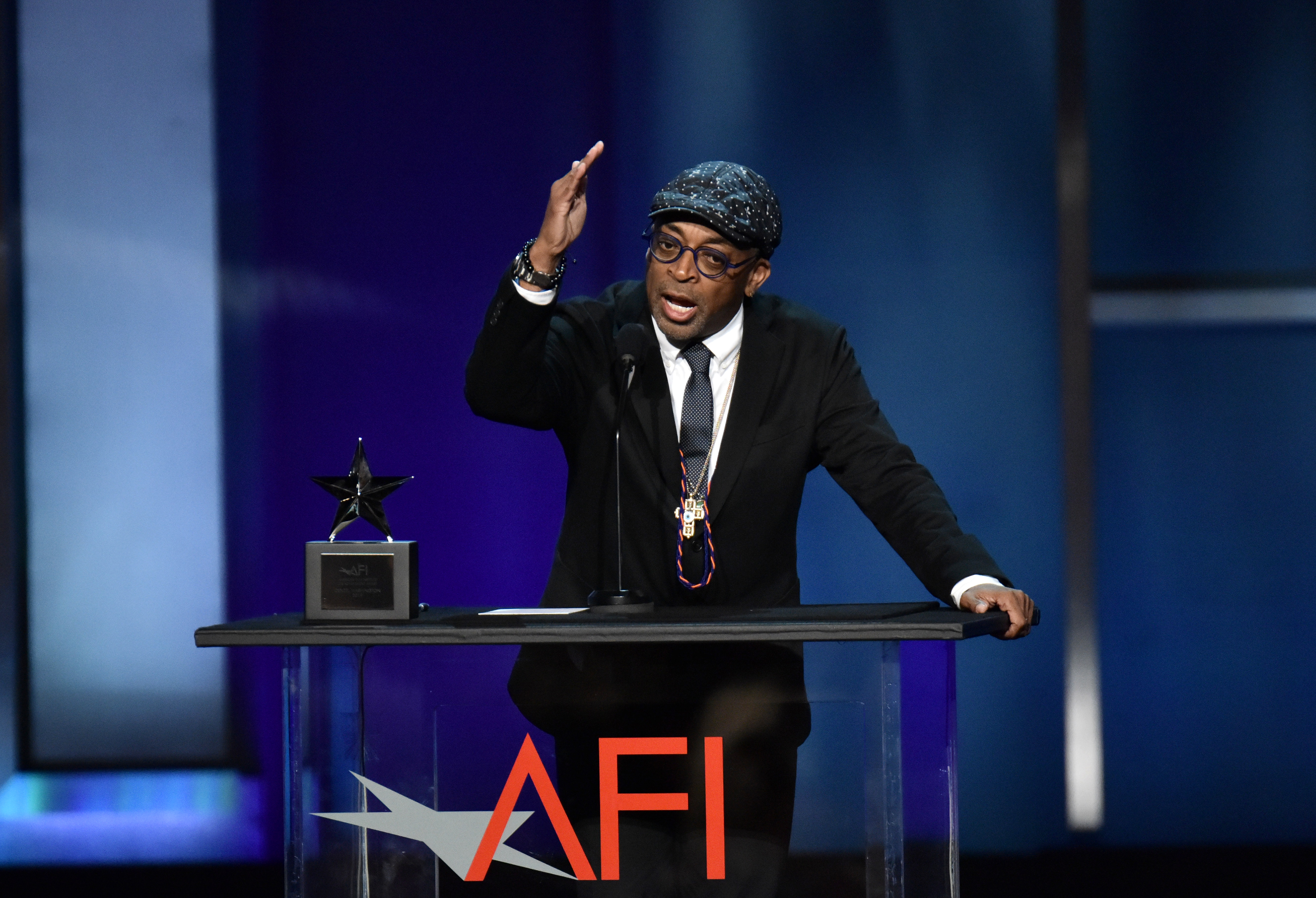 Spike LeeAFI Honors Denzel Washington, Show, Dolby Theatre, Los Angeles, USA - 06 Jun 2019