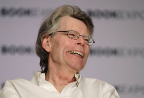 Author Stephen King speaks at Book Expo America, in New York. King and his son, Owen, have co-written a novel, Sleeping Beauties, to be published in SeptemberBook Expo America King, New York, USA - 01 Jun 2017