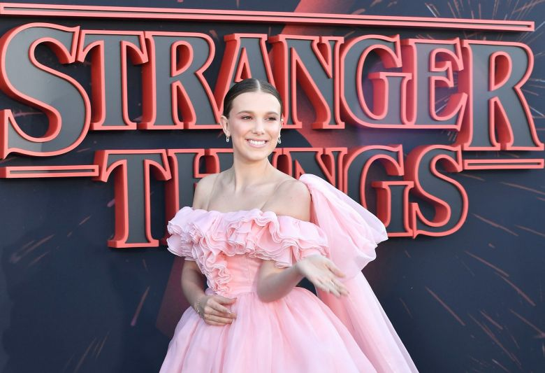 Millie Bobby Brown'Stranger Things' TV Show Season 3 Premiere, Arrivals, Santa Monica High School, Los Angeles, USA - 28 Jun 2019