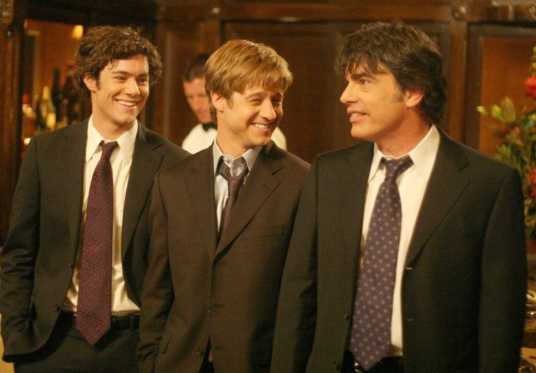 "Adam Brody, Ben McKenzie, and Peter Gallagher, ""The OC"""