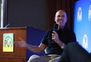 Jeffrey Katzenberg speaks at the Produced By Conference at Warner Bros. Studios, in Burbank, CaliforniaProduced By Conference 2019 - Day 1, Burbank, USA - 08 Jun 2019