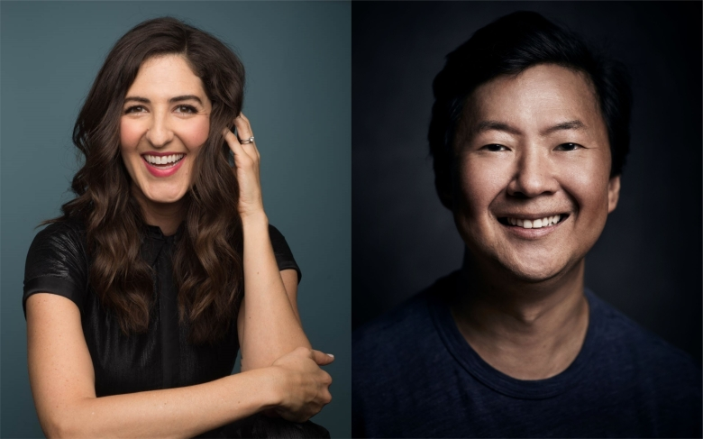 Emmy Nominations D'Arcy Carden and Ken Jeong