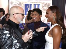 Ryan Murphy, Janet Mock. Ryan Murphy, left, and Janet Mock at the 76th annual Golden Globe® Awards with FIJI WaterFIJI Water at the 76th annual Golden Globe Awards, Los Angeles, USA - 06 Jan 2019