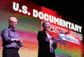 Steven Bognar (L) and Julia Reichert (R) win the Directing Award: US Documentary for 'American Factory' at the 2019 Sundance Film Festival awards ceremony in Park City, Utah, USA, 02 February 2019.2019 Sundance Film Festival Awards Ceremony, Park City, USA - 02 Feb 2019