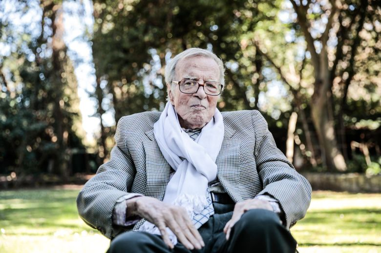 Franco Zeffirelli at home in RomeFranco Zeffirelli presents his production of 'La Traviata', Rome, Italy - 13 Feb 2019Franco Zeffirelli promotes his production of the opera 'La Traviata' that will be performed at the Verona Arena