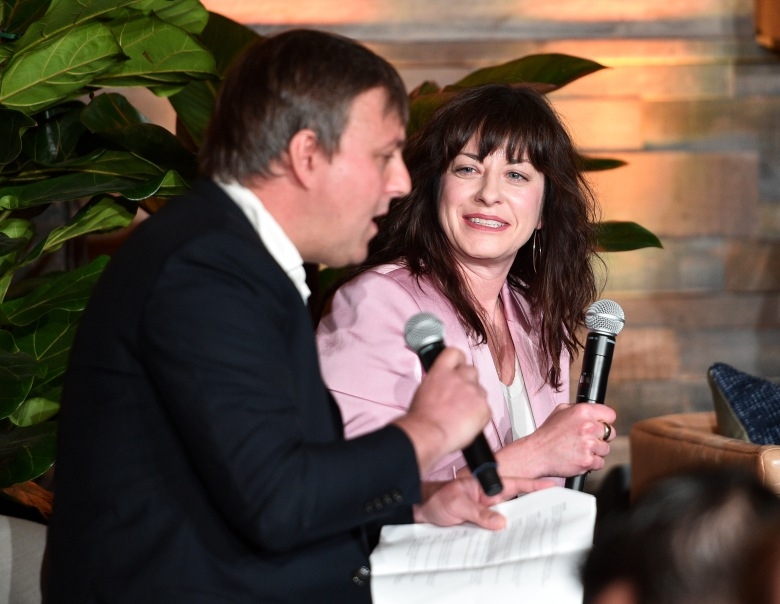 Chris O'Falt and Jenny EaganIndieWire 'Consider This' FYC Nominees Brunch, Los Angeles, USA - 21 May 2019