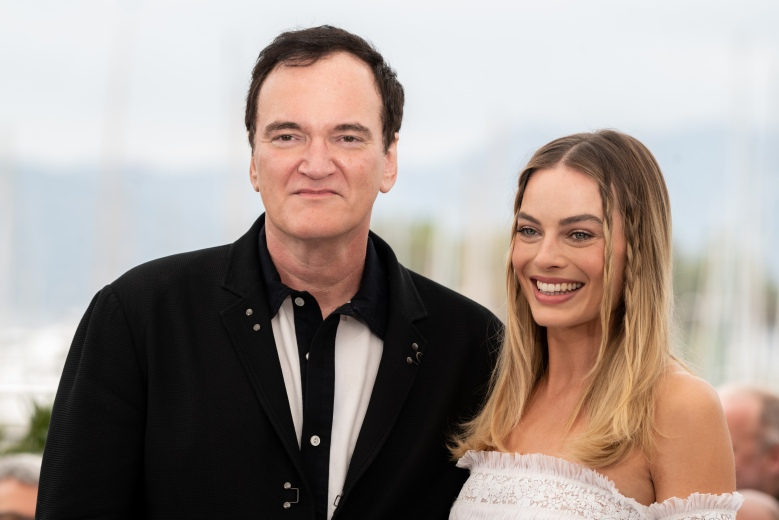 Margot Robbie Quentin Tarantino Brad Pitt Leonardo DiCaprio'Once Upon A Time in Hollywood' photocall, 72nd Cannes Film Festival, France - 22 May 2019