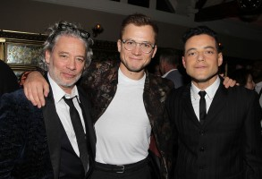 Dexter Fletcher (Director), Taron Egerton, Rami MalekParamount Pictures presents the US premiere of ROCKETMAN, New York, USA - 29 May 2019