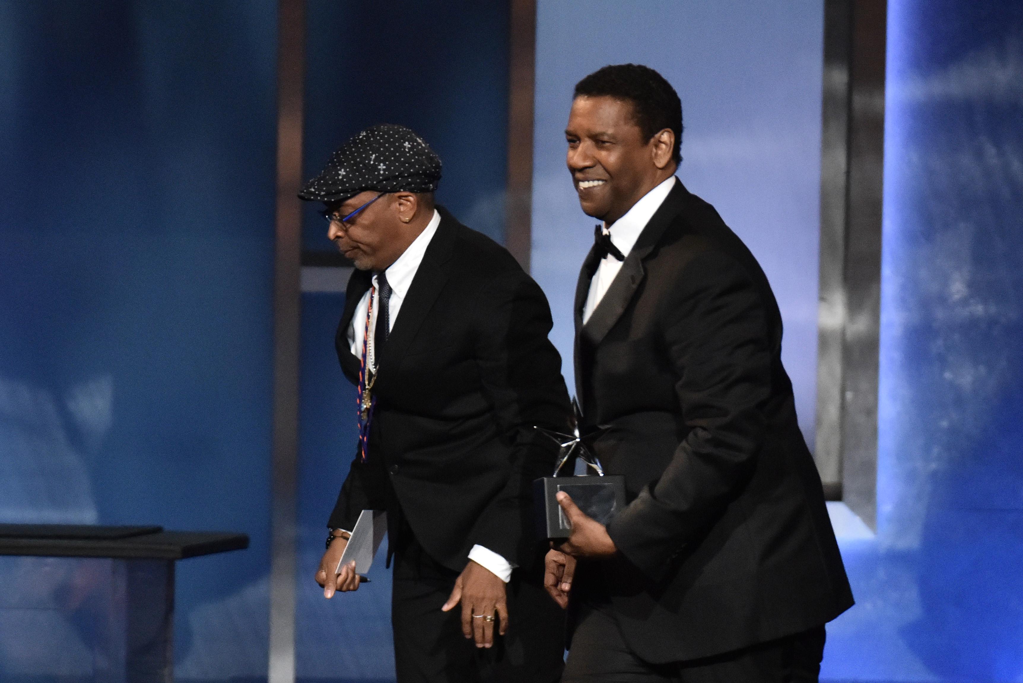 Spike Lee and Denzel WashingtonAFI Honors Denzel Washington, Show, Dolby Theatre, Los Angeles, USA - 06 Jun 2019
