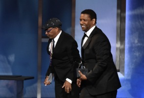 Spike Lee and Denzel WashingtonAFI Honors Denzel Washington, Show, Dolby Theatre, Los Angeles, USA - 06 Jun 2019