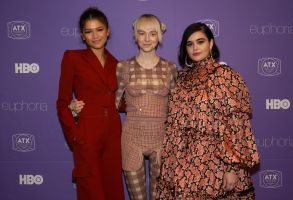 Zendaya, Hunter Schafer and Barbie Ferreira'Euphoria' TV show screening, Arrivals, ATX Televison Festival, Austin, USA - 06 Jun 2019