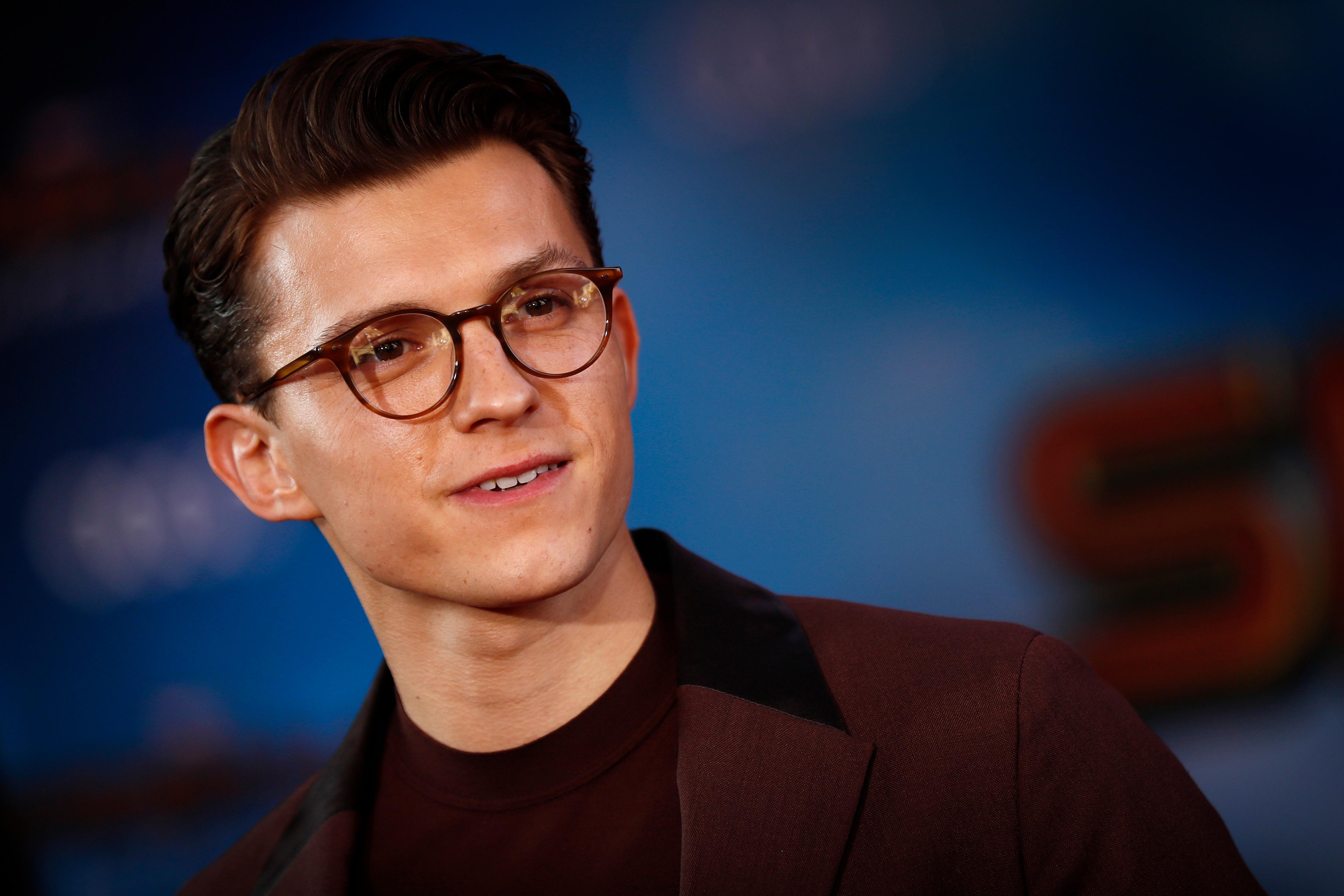 Tom Holland Celebrates 'Spider-Man' MCU Return