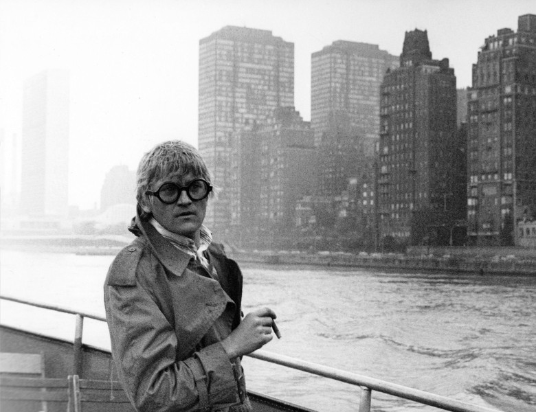 "David Hockney in ""A Bigger Splash"""