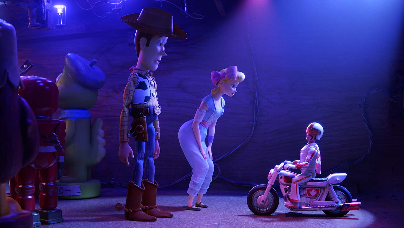 "DUKE CABOOM – In Disney•Pixar's ""Toy Story 4,"" Woody and Bo turn to a 1970s toy called Duke Caboom for help. Based on Canada's greatest stuntman, Duke comes with a powerful stunt-cycle, and he's always prepared to show off his stunt poses with confidence and swagger. Featuring Keanu Reeves as the voice of Duke Caboom, ""Toy Story 4"" opens in U.S. theaters on June 21, 2019...©2019 Disney•Pixar. All Rights Reserved."