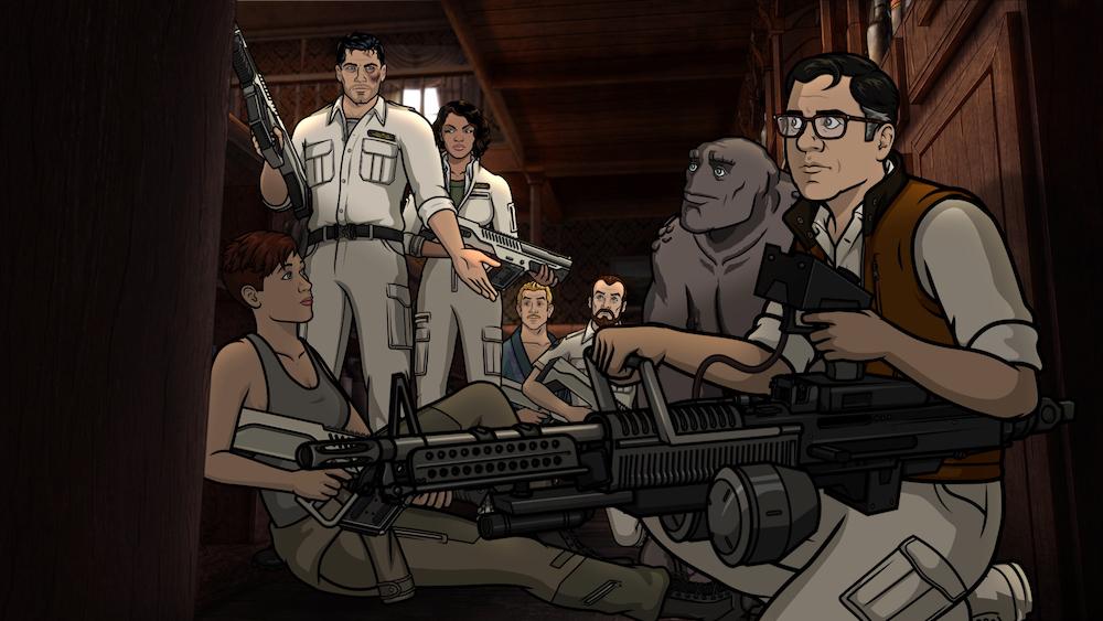Archer Season 10 finale Archer: 1999
