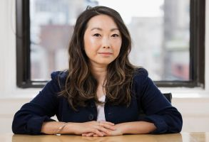 "This photo shows filmmaker Lulu Wang posing in New York to promote her film, ""The Farewell""The Farewell"" Portrait Session, New York, USA - 12 Jun 2019"